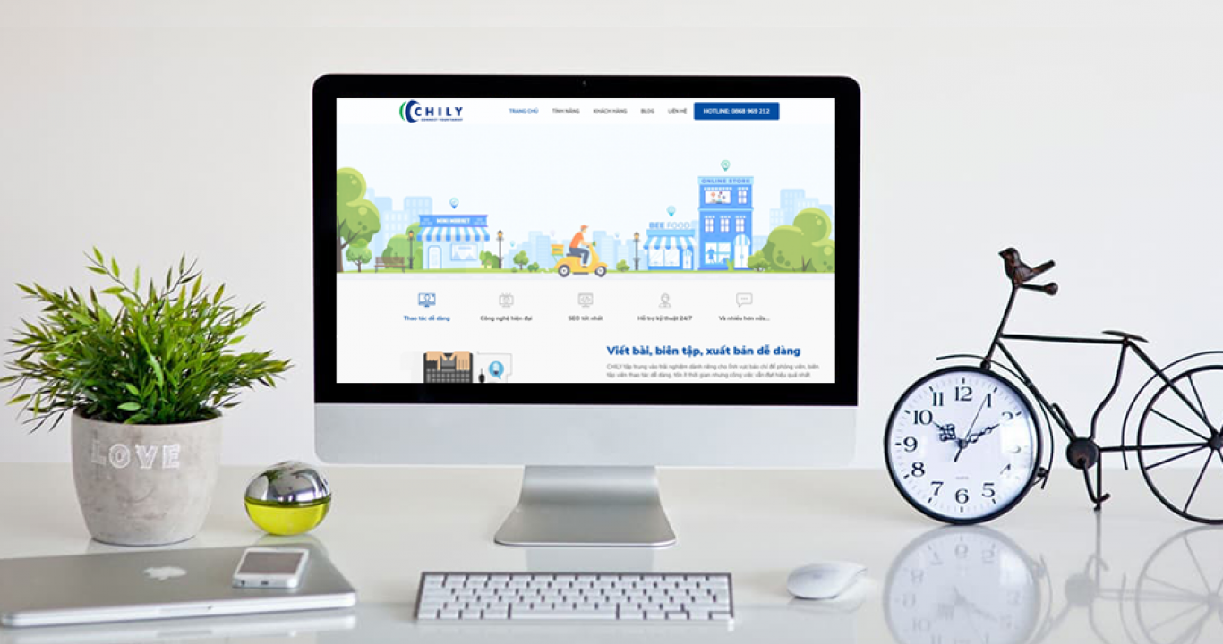 Banner thiết kế web cao cấp